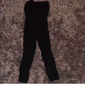 Old Navy Strapless black jumpsuit